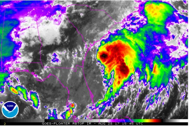 热带风暴厄马很快形成 专家对北卡罗来纳州离岛发警告_图1-1