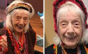 击败世纪大流感、难产、癌症!纽约百岁奶奶如今又战胜新冠