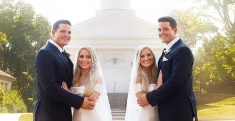 双胞胎姐妹嫁给双胞胎兄弟,婚后4人住一起,同时怀孕,网友:好期待他们孩子的模样···