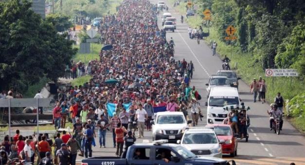 拜登大赦1100万非法移民,中美洲再现大篷车,数千难民正赶来美国