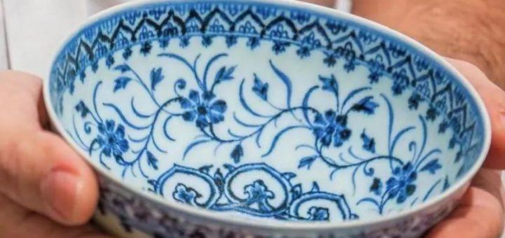 旧货市场35元淘到中国瓷碗 竟是价值这个数的旷世文物