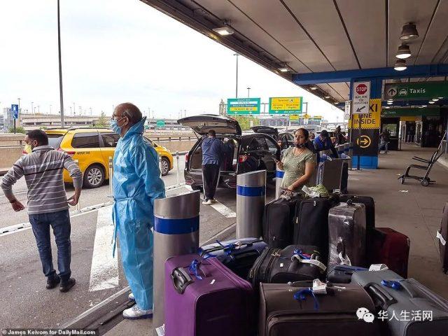 终于断航!美国宣布对印度发布旅行禁令!最后72小时几十架航班爆满入境!